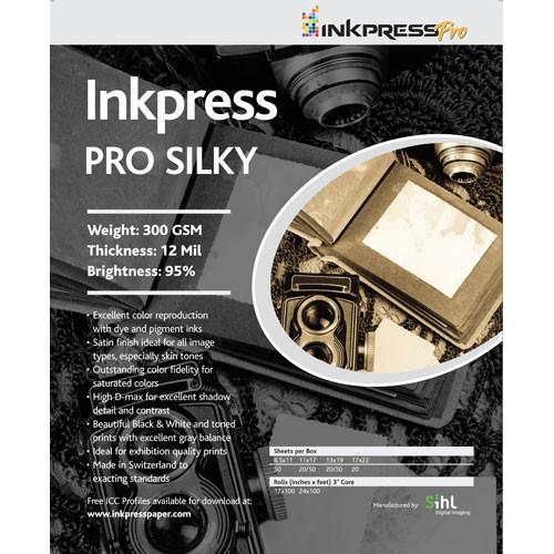 Inkpress Media Pro Silky Paper for Inkjet PL111750