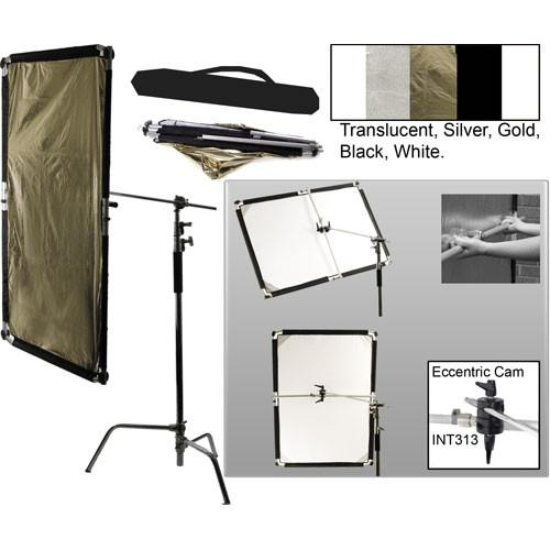 Interfit Flexi-Lite 5-in-1 Panel-Boom Stand Kit INT303