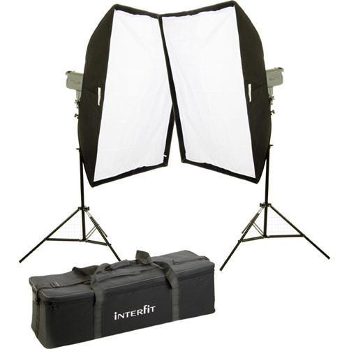 Interfit Stellar X Solarlite Two-Softbox (Large) Kit INT197U