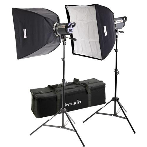 Interfit Stellar X Solarlite Two-Softbox (Small) Kit INT195U
