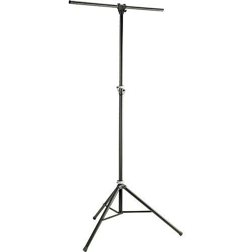 K&M Aluminum Stand with 4' Crossbar (Black, 9.8') 24620-000-35