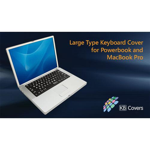KB Covers LT-P-B Large Type Keyboard Cover LT-P-B