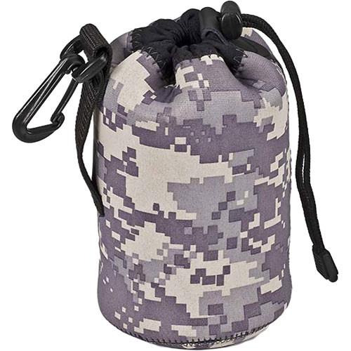 LensCoat LensPouch, Medium Wide (Digital Camo) LCLPMWDC