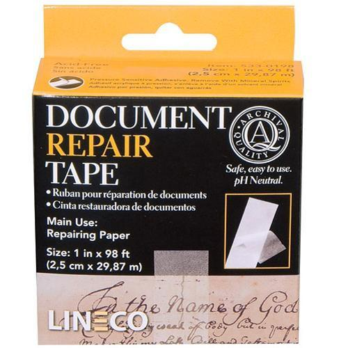 Lineco 533-0198 Document Repair Tape / 1