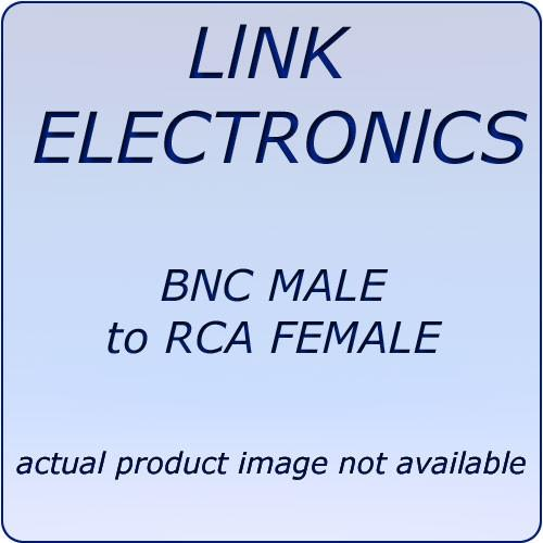Link Electronics  L7502  BNC to RCA Adapter L7502