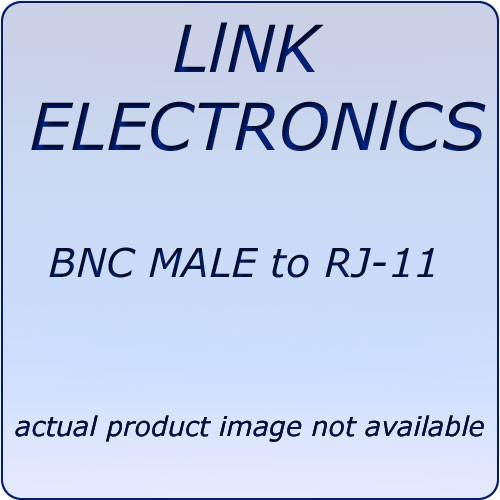 Link Electronics L7506 BNC to RJ-11 Balun Adapter L7506