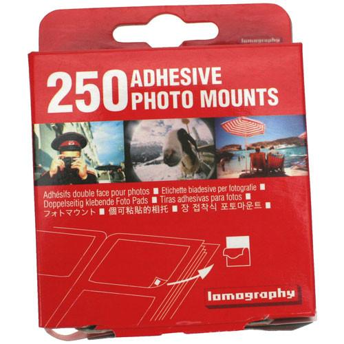 Lomography Adhesive Square Mounts (250 Pack) Z400PM