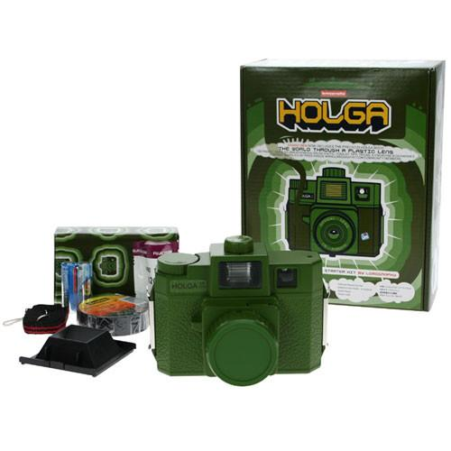 Lomography Holga Starter Kit - 120SF Medium Format HSK121G