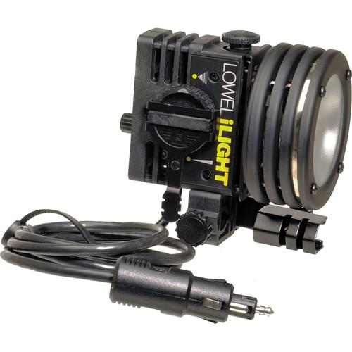 Lowel ID-Light Focus Flood Light, Cigarette Lighter Connection