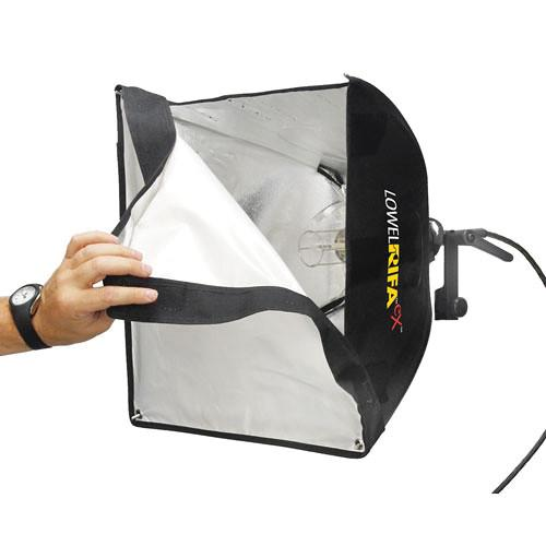Lowel LC-44EX Rifa-Lite EX44 Softbox Light (120-230VAC/12VDC)