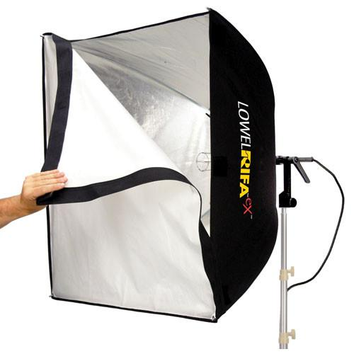 Lowel Rifa-Lite EX88 1000 Watt Softbox Light with Lamp