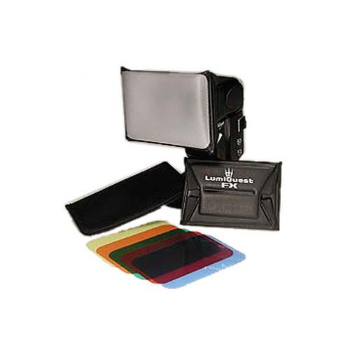 LumiQuest FX Color Gel System (5-Filters and Holder) LQ-111