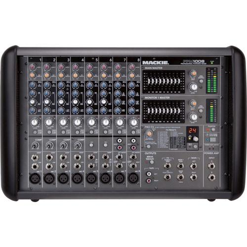Mackie PPM1008 8-Channel Professional Powered Mixer PPM1008