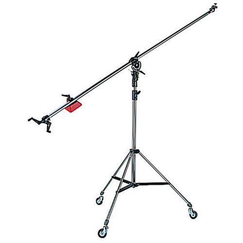 Manfrotto 025BS Super Boom with 008BU Stand - Black 025BS