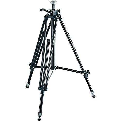 Manfrotto 028B Triman Camera Tripod with Geared Center 028B