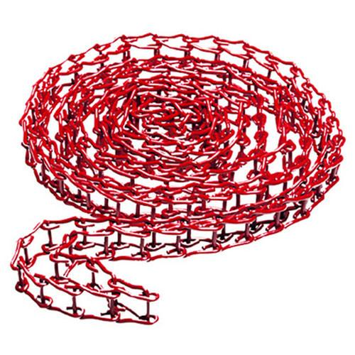 Manfrotto 091MCR Metal Chain for Expan Drive, Red 11.5' 091MCR