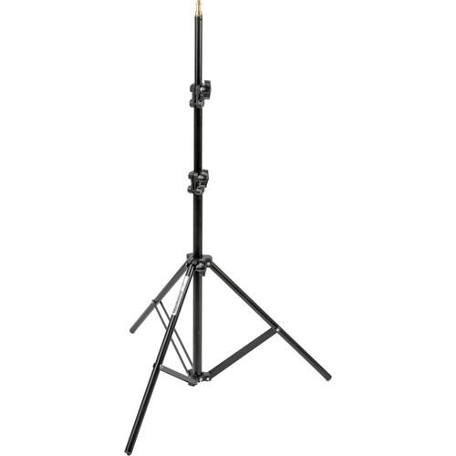 Manfrotto 366B Basic Black Light Stand - 6.4' (1.9m) 366B