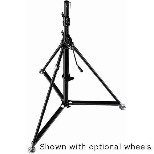 Manfrotto 387XBU Black Steel Super Wind-Up Stand - 12' 387XBU