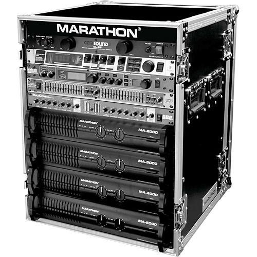 Marathon MA-14UAD Flight Road 14U Deluxe Amplifier Rack MA-14UAD