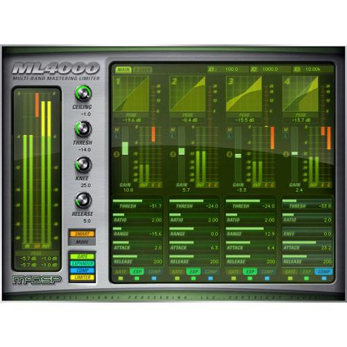 McDSP  ML4000 Native Plug-In M-U-MLLE-MLN