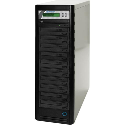 Microboards 10-Drive Daisy-Chainable DVD Tower DVD PRM NET-10