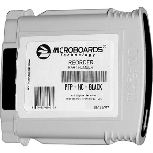 Microboards Black Ink Cartridge for Microboards PFP-HC-BLACK