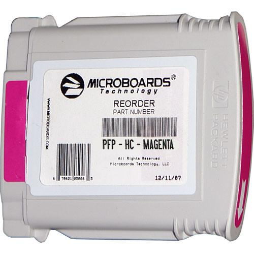 Microboards Magenta Ink Cartridge for Microboards PFP-HC-MAGENTA