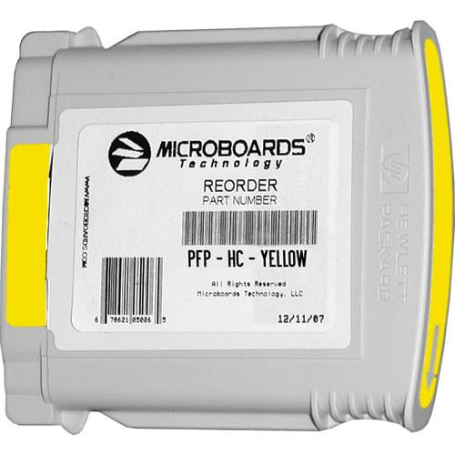 Microboards Yellow Ink Cartridge for Microboards PFP-HC-YELLOW