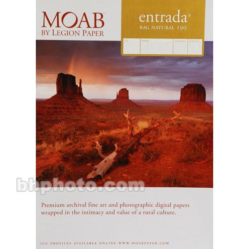 Moab Entrada Rag Natural 190 (Matte, 2-sided) R08-ERN19071025
