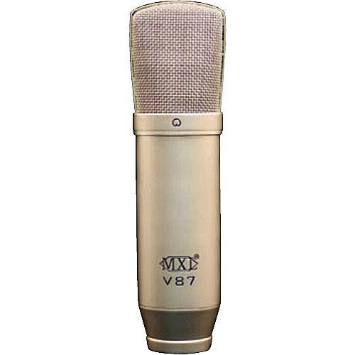 MXL V87 Low-Noise Condenser Microphone (Nickel Plated) V87