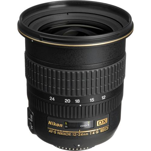 Nikon AF-S DX Zoom-NIKKOR 12-24mm f/4G IF-ED Lens