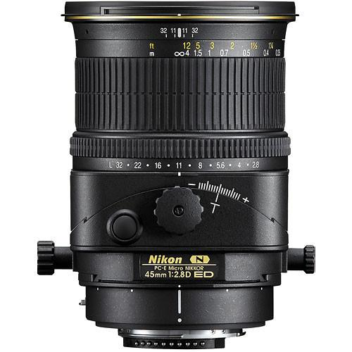 Nikon PC-E Micro-NIKKOR 45mm f/2.8D ED Tilt-Shift Lens 2174