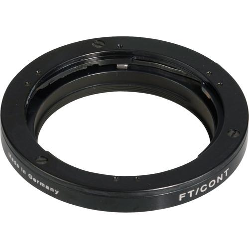 Novoflex FTCONT For Contax/Yashica Lenses to Standard FT/CONT