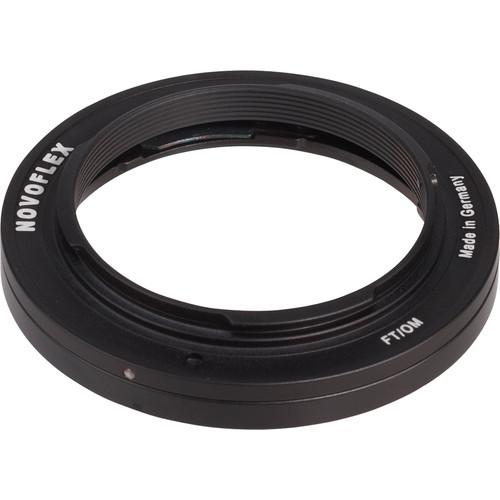 Novoflex Lens Mount Adapter - Olympus Lens to Four-Thirds FT/OM