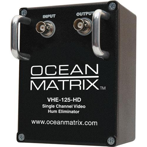 Ocean Matrix VHE-125-HD Video Hum Eliminator (Black) VHE-125-HD