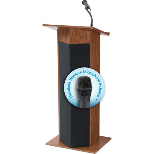 Oklahoma Sound Power Plus Lectern #111PLS 111PLS-LWM-5 MO
