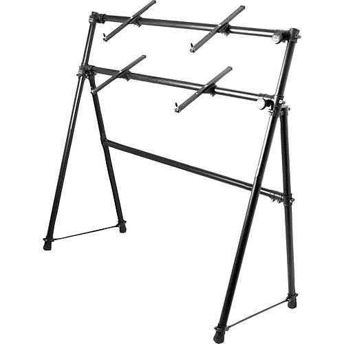On-Stage KS7902 - Two-Tier A-Frame Keyboard Stand KS7902