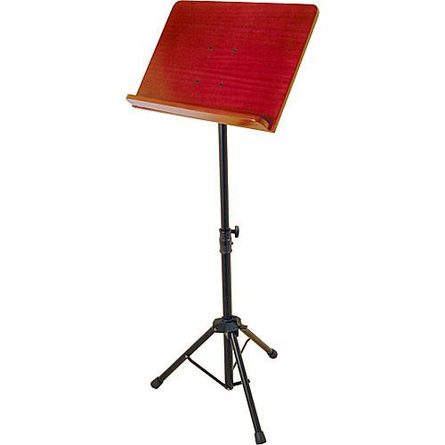 On-Stage SM7311W Conductor Stand with Wood Bookplate SM7311W