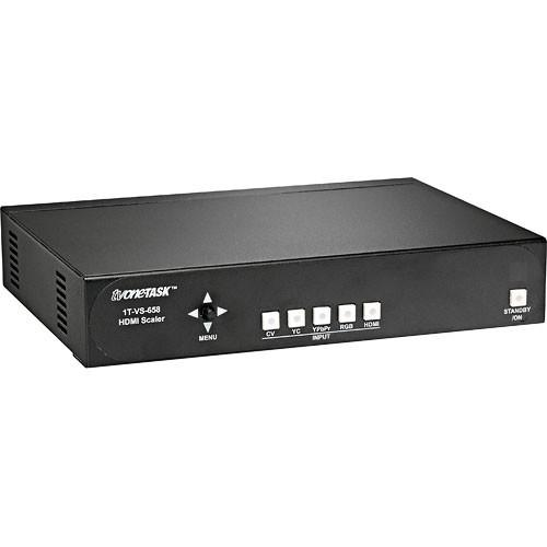 One Task  1T-VS-658 HDMI Video Scaler 1T-VS-658