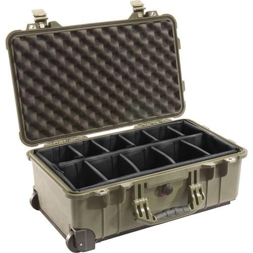 Pelican 1514 Carry On 1510 Case with Dividers 1510-004-130