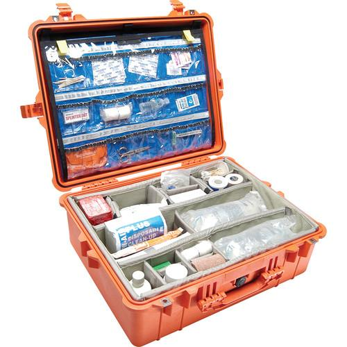 Pelican 1600EMS Watertight ATA Hard Case with EMS 1600-005-150