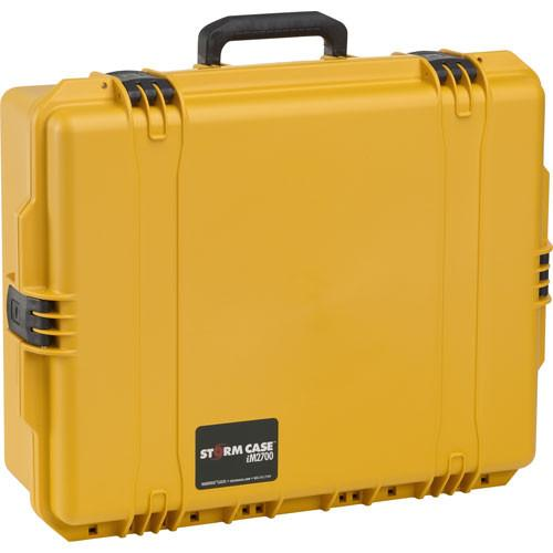 Pelican iM2700 Storm Case without Foam (Yellow) IM2700-20000