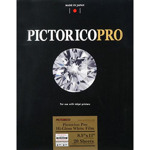 Pictorico Pictorico Pro Hi-Gloss White Film for Inkjet PICT35001