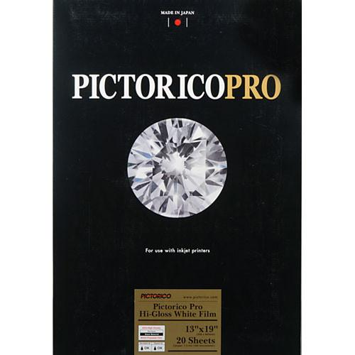 Pictorico Pictorico Pro Hi-Gloss White Film for Inkjet PICT35002