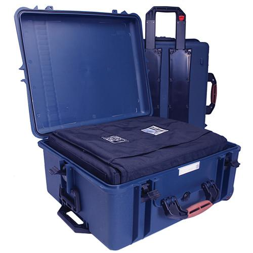 Porta Brace PB-2750IC Hard Case with Soft Case Interior (Blue)