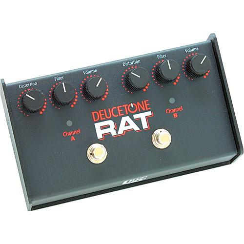 Pro Co Sound Deucetone RAT - Dual-Channel Analog Guitar DTRAT