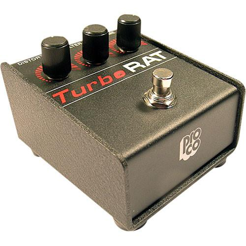 Pro Co Sound Turbo RAT - Compact Guitar Distortion Pedal TRAT
