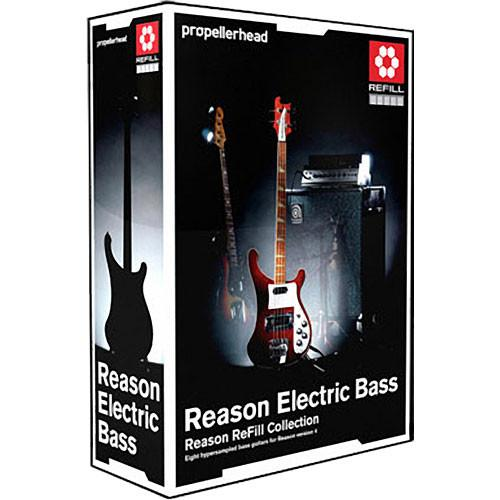 Propellerhead Software Reason Electric Bass ReFill 99-101-0012