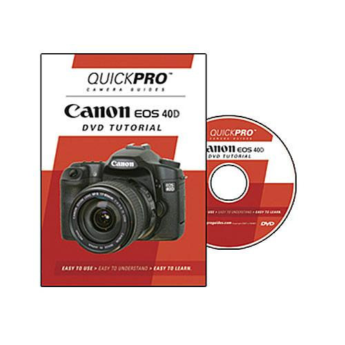 QuickPro  DVD: Canon EOS 40D Tutorial 1185