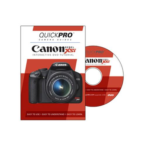 QuickPro  DVD: Canon EOS Rebel XSi Tutorial 1222